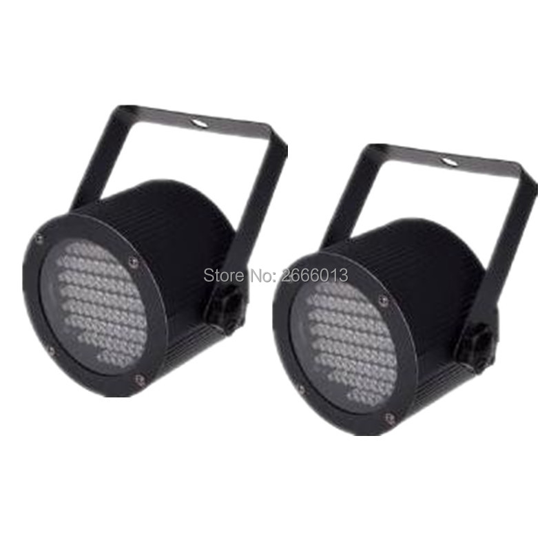2pcs/lot 86pcs LED Stage Par Light Sound Active Lamp for KTV Party DJ Disco Show Holiday Party RGB mixed LED wash effect light <br>
