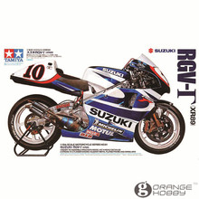 OHS Tamiya 14081 1/12 RGV-T XR89 Scale Assembly Motorcycle Model Building Kits