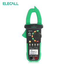 ELECALL EM2015A 26mm Jaw Capacity Easy To Separate The Wire NCV Digital Clamp Meter With Torch Diode Resistance Measurement(China)