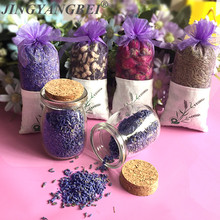 Natural Lavender Bud Dried Flower Rose Jasmine Aromatherapy Aromatic wardrobe desiccant sachet car liveing room Air Refreshing(China)