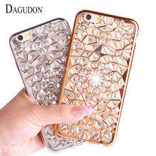 Buy DAGUDON Luxury case iphone 7 Silicone transparent bling crystal soft tpu back cover iphone 7 phone cases ultra diamond for $1.61 in AliExpress store