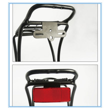 Bicycle Rack Tail Safety Caution Warning Reflector Disc Panier Rear Reflective Bike Light Usb Front Back Rear #3S25