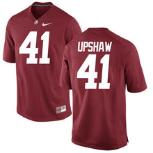 Nike 2017 Alabama #53 Bryant #42 Lacy Can Customized Any Name Any Logo Limited Ice Hockey Jersey #41 Upshaw(China)