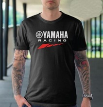 2017Summer New Brand Shirt Tee YAMAHA Racing leisure men's cotton Honda O-Neck Short Sleeve Audi shirt Tee Mitsubishi Size S-XXL