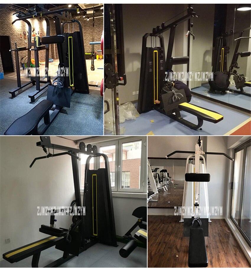 Corpo De Ginástica Em Casa Lat pull Down Máquina De Baixo Linha Bar Cabo fitness peso treinamento