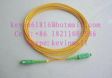 3m optical fiber jumper SC/APC-SC/APC Connector single mode good quality. FiberCore