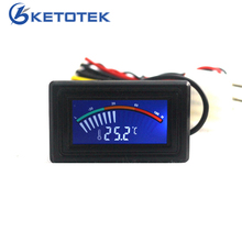 -50-110C Digital LCD Pointer Thermometer Car Water Temperature Meter Gauge C/F for Computer Case(China)