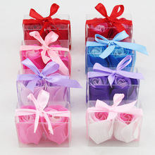 Soap flower two pack gift flower soap flower Roses Roses factory direct wholesale