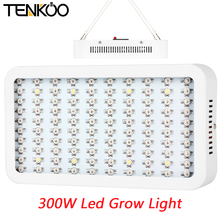 1Pcs Full Spectrum 100 Leds 300W Grow Light Indoor Hydroponics Flower LED Plant Grow Lamp Light Superior Yield High Quality(China)