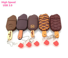 lovely usb 3.0 flash drive ice cream pendrive 4g/8gb/16gb/32gb/64g  usb stick pendrive flash card flash memory stick U disk