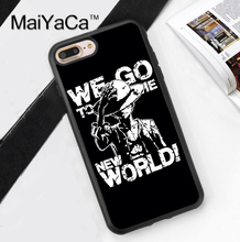 Monkey D. Luffy One Piece Printed Soft Rubber Phone Case For Apple iphone 6 Case For iphone 6S 6Plus 7 7Plus 5 5S 5C SE 4S Cover