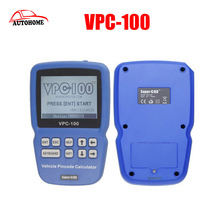 2016 Top Quality New Arrival Pin Code VPC-100 Calculator Support Almost All Cars VPC 100 Auto Key Programmer VPC100(China)