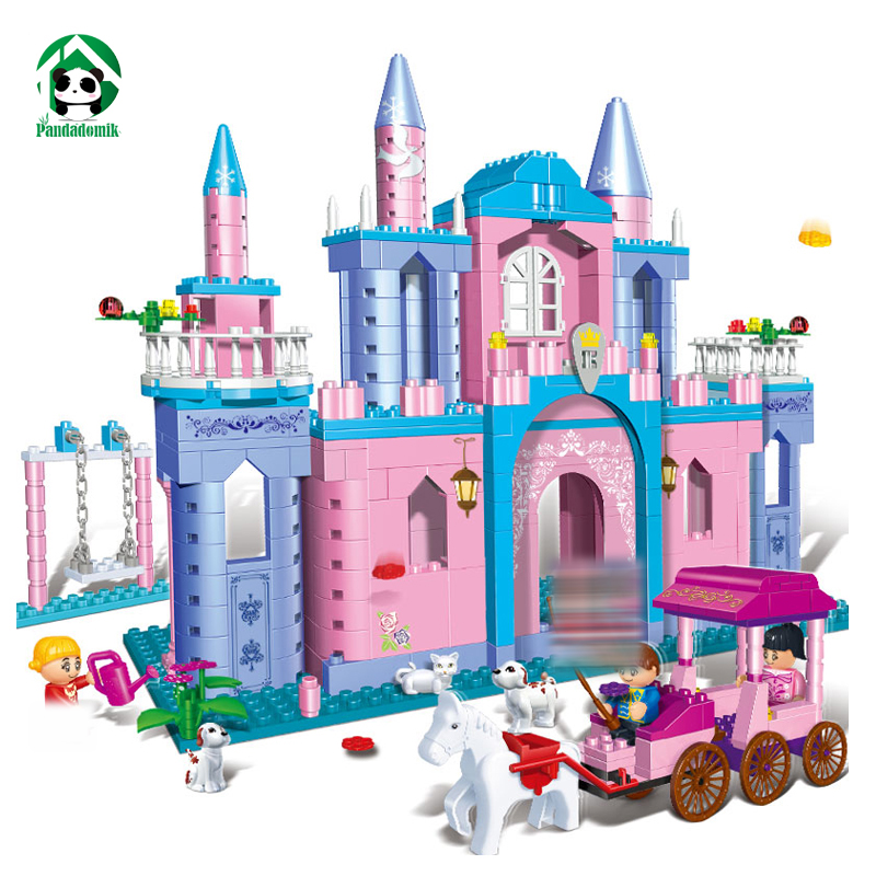 Large 532pcs House Princess Castle Building Blocks Set 4 Toy Bricks figures Dolls Friends Toys for Girls Birthday Gift Children<br>
