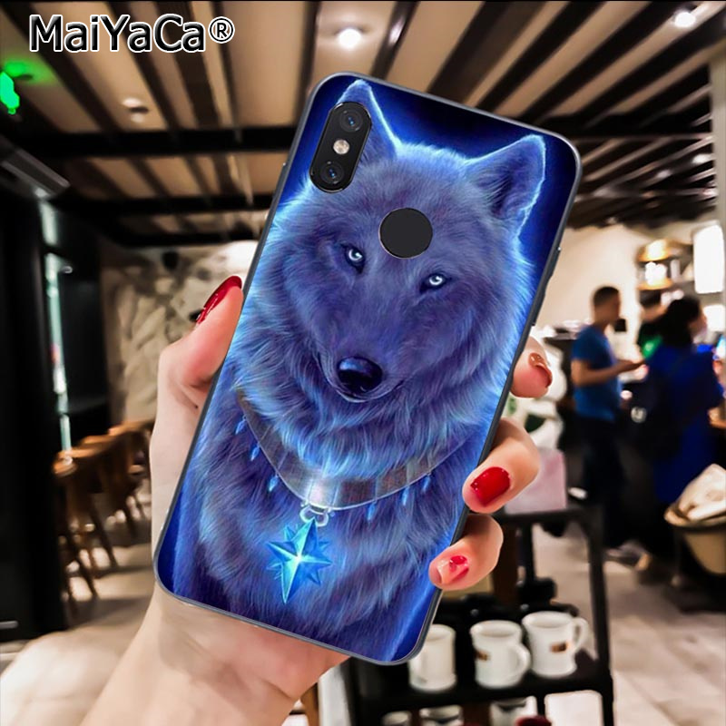 Magical Animal Wolf Deer