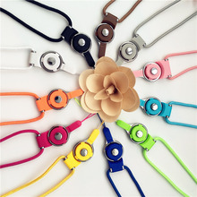 new multi color neck hand cell phone straps keychain Charm Cords Hang Rope 50cm Lanyard(China)