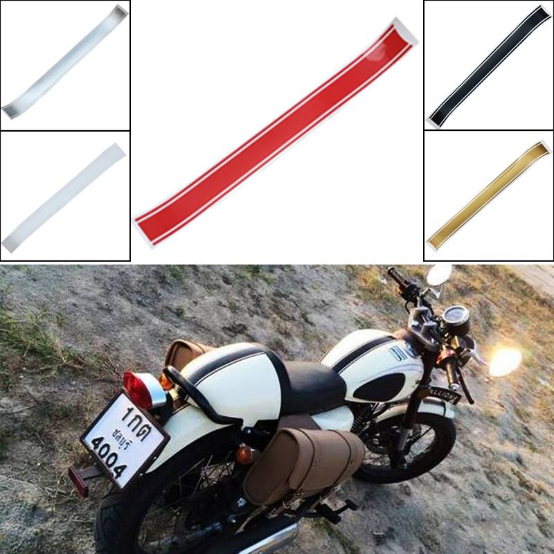 1pc 2017 New Cafe Racer Tank Sticker 50*5CM Motorcycle Fuel Tank Cover Decals for Most of Motorcycles(China (Mainland))