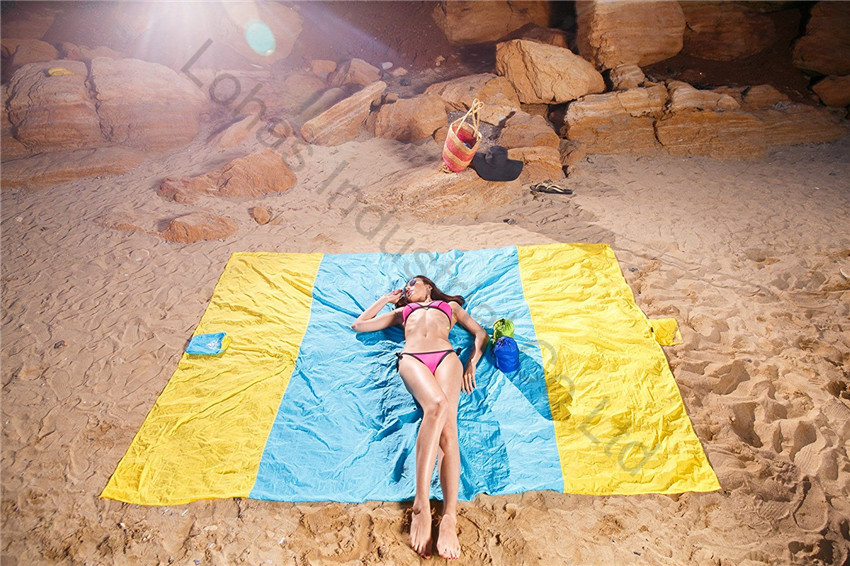 Sand Escape Compact Outdoor Beach Blanket mat new stlye14