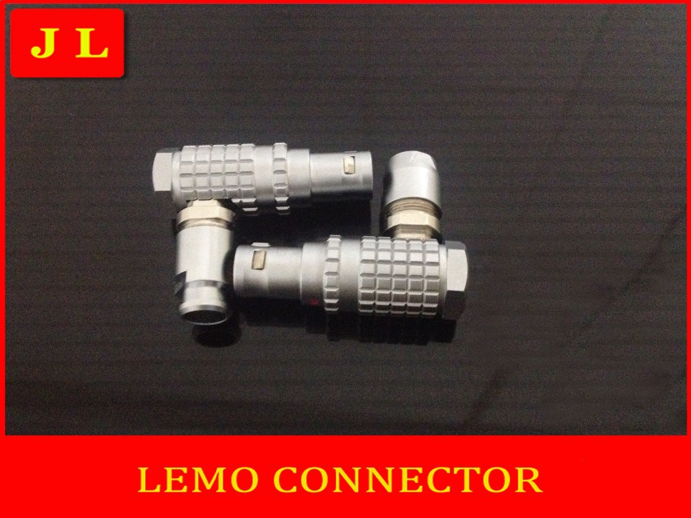 (Free shipping)Lemo 90 degree elbow 4pin FHG 0B 304 plug male compatible connector ,Buy a can also free shipping(China (Mainland))