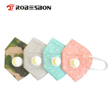 ROBESBON 20pcs/lot Pm2.5 N95 Breathing valve antifogging haze Dustproof mask Non-woven fabrics Mouth-muffle Flu Face mask Adult