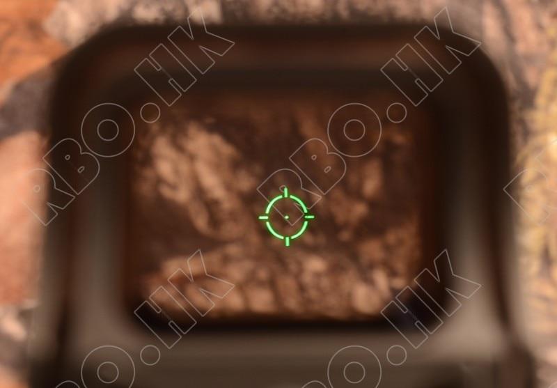Tactical 1x red Dot Sight Scope picatinny rail mount hunting shooting BLACK 551 R4654<br>