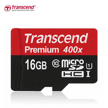 Transcend Micro SD Card 16GB/32GB/64GB/128GB Class10 Memory Card Flash  Micro SDHC XC 400X for Phone/Tablet/Camera