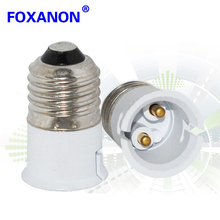 Foxanon Brand E27 TO B22 adapter High quality material fireproof material socket adapter.LED lamps Corn Bulb light Ure 1pcs/lot