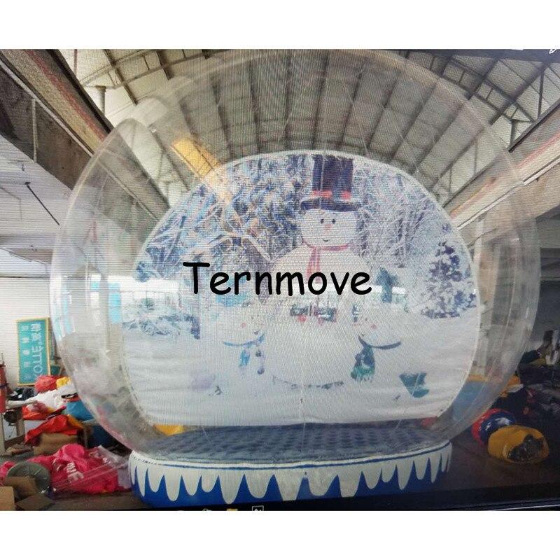 Inflatable Christmas Snow Globe61