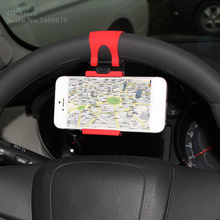 Car steering wheel mobile phone clip For Hyundai i20 i30 i35 iX20 iX35 Solaris Verna Accent Azera Elantra Solaris HB20 TUCSON(China)