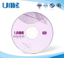 Wholesale 5 discs 8.5 GB A+ UME Blank Printed DVD+R DL Disc