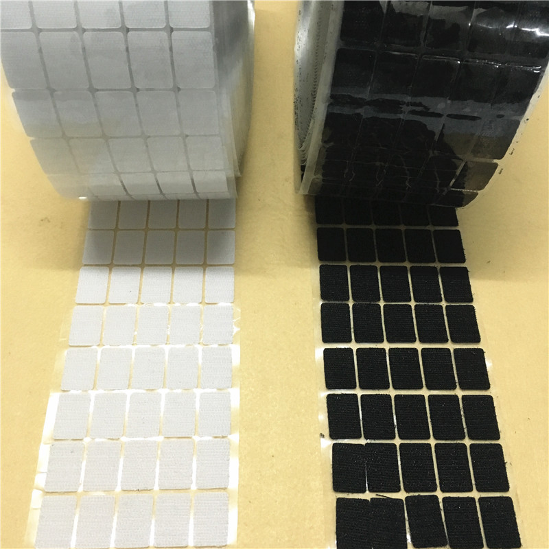 Arts,crafts & Sewing Kuke 100pcs White Self Adhesive Fastener Tape Hook Loop Nylon Table Chair Feet With Glue Disks Magic Square Double Side Sticker Making Things Convenient For Customers