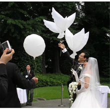 2pcs 104*54cm Big Helium Pigeon Wedding Balloon Peace Dove Flying White Dove Balloon for Party Decoration White Pigeon Balloon