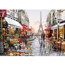 Diamond Embroidery Home Beauty 5D DIY Diamond Painting Full Dill Square Diamond Mosaic Scenic Home Decoration Paintings