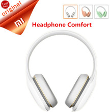 Original Xiaomi Mi Headphone Comfort In Stock 2017 Newest Xiaomi Mi Headphone With Mic Xiaomi Headset Noise Cancelling(China)