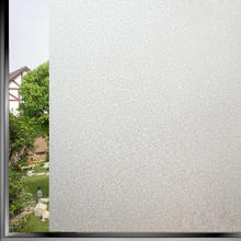 Hot PVC Bathroom Window Film Glass Sticker Home Privacy Frosted Frost Cover DIY Crafts Decoration 45x100cm Wholesale