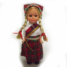 Hot Children Gift Mini Dolls 5.5inch Scotland Ethnic Dolls Yong Woman Clothes Baby Ethnic Dolls Kid Toys for Girls/Boys 1001-013