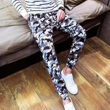 New 2017 Spring And Autumn Haren Men's Leisure Pants  Camouflage Free Shipping