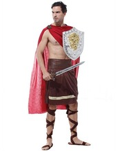 Free shipping!!Ancient Greek Spartan play costumes, Halloween carnival rave festival performance clothing