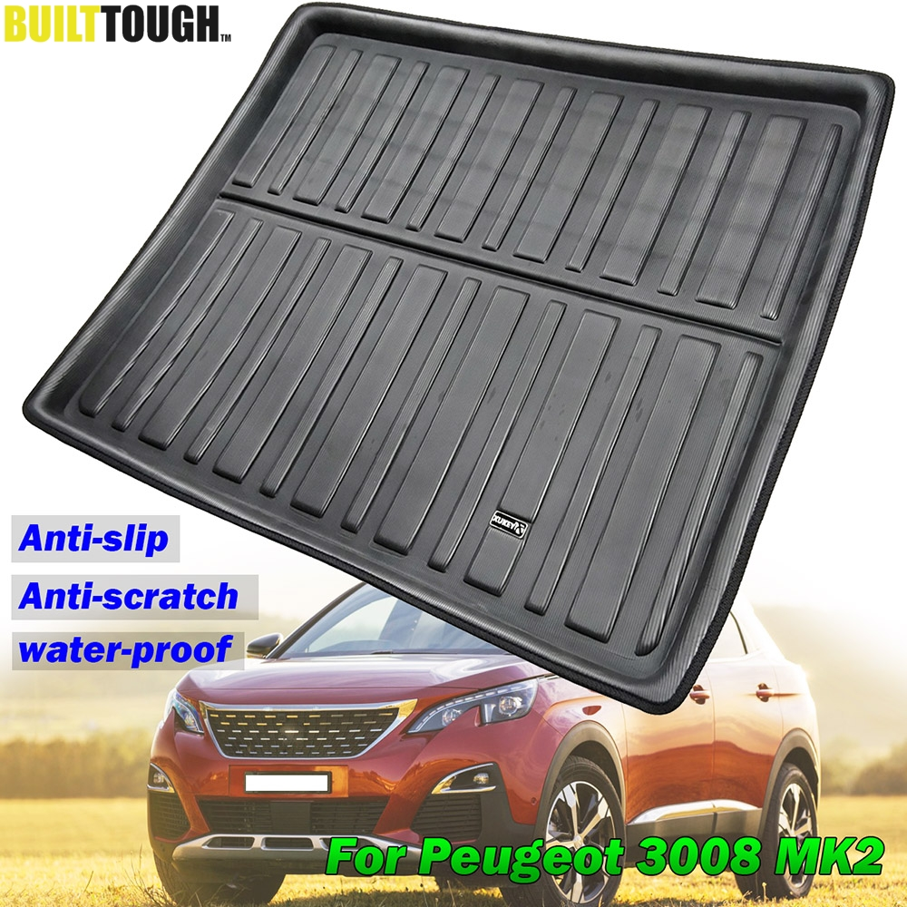 Heavy Duty Water Resistant Car Boot Liner Bumper Protector for Peugeot 207 SW