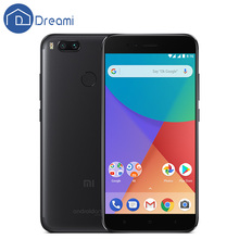 Dreami Global Version Original Xiaomi Mi A1 4GB 64GB MiA1 12MP Dual Camera Mobile Phone Snapdragon 625 FCC CE 5.5 Inch FHD(Hong Kong)