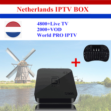 Buy GOTiT Dutch & Holland IPTV Amlogic S905X Quad-core 64-bit 4K Smart Android TV box 4800+Spain Arabia Finland Singapore media box for $80.99 in AliExpress store