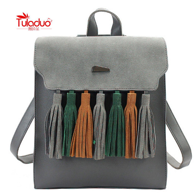 Summer Brand Vintage Backpack Women Pu Leather Woman Backpack High Quality Softback School Bags For Teenagers Black Bag<br><br>Aliexpress