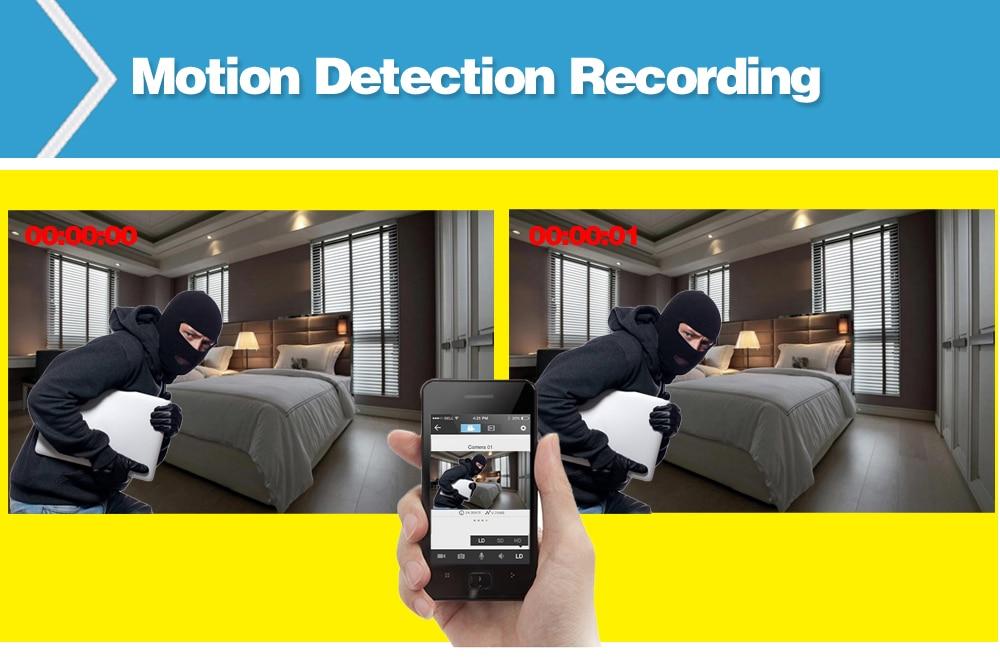 Wistino 1080P Mini AHD Camera Kits 4CH Digital Video Recorder DVR Kit CCTV Security Analog Camera Outdoor IR Video Surveillance (11)