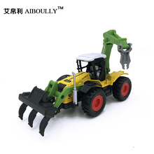 2017 new Learning Education Plastic 3d Deformation utility vehicle model Kids Toys cute children toy child gift birthday gifts(China)
