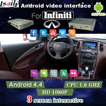 GPS  Android Navigation Video Interface for Infiniti Q50/Q50L/Q60