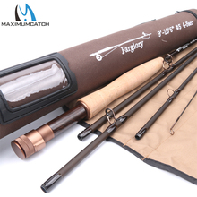 Maximumcatch 5WT Fly Rod 9'/10'6''-#5WT-5Sec Extra Extension Section With Cordura Tube Fly Fishing Rod(China)