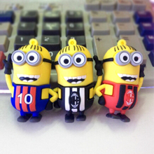 usb flash drive 8GB16GB Yellow Man put on football shirt USB 2.0 Memory USB  Flash drive Pen Thumb Drive pendrive N3 28% off