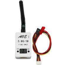 Newest Car Video Backview System Wifi Backview PFV TS932 5.8G 1000mW 1W 2.5km transmitter for FPV Quadcopter drones Aerial Photo
