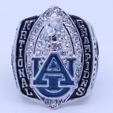 YKIN 2010 NCAA Auburn Tigers Football National Championship Ring,Men Gift For Sports Fans Replica Solid Ring Drop Shipping(China)