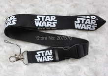 Free Shipping 10pcs Star Wars Removable Mobile Phone Neck Strap Keys Camera ID Card Lanyard Mobile Phone Neck Straps  C-59