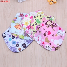 6*6 Inch Reusable Washable Bamboo Cloth Menstrual Sanitary Maternity Minky Pads 1 PCS #H027#